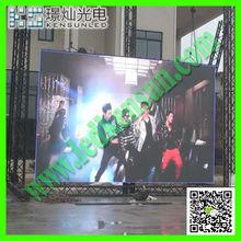 outdoor hanging rental moving ads P10 rgb led display