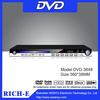 Slim size metal usb home dvd vcd player