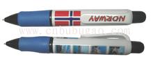 2015 hot selling promotional jumbo big pen/ plastic pen/ ball pen