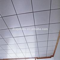 600*600mm/300*1200mm Heat Resist Aluminium False Ceiling Board,aluminum suspended ceiling grid