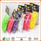 factory direct wholesale bulk elastic bracelet rubber crazy loom bands