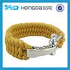 paracord survival bracelet with metal adjust buckle