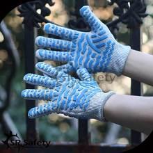 SRSAFETY Good protection safety impact gloves led gloves gloves work