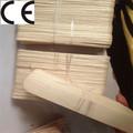 Encerar laboratório ultra-sônica skin espátula de madeira