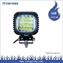 48w led worklight ,12v off road motorcycle led driving lights