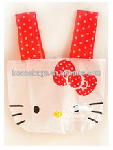 Cute Clear Portable Endurable Thin Shopping Tote Bag