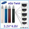 top sell ego twist e cigarettes 510 thread ego c twist battery