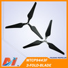 Maytech phantom folding 3 blade propeller more efficient