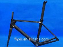FLX-FR-315 : Carbon Matt Cycling Road Bike Frame Fork Seatpost Clamp : 50cm 52cm 54cm 56cm 58cm