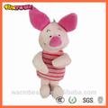 การ์ตูนสีชมพูหมูนุ่มของเล่นตุ๊กตาหมูสีชมพูตุ๊กตาหมูสีชมพู