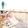 automatic vibrating dual head massager machine new product