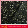 100% polyester, splendide fascinante ornée sequin main cheval cartoon broderie tissu