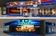 Guangzhou factory amusement arcade 5d 7d 9d cinema equipment for walking street