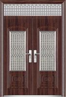 high quality exterior louvered door/glass louver door