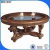 C-0090B antique tea table / cheap tea table /root carving tea table