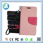 Wholesale Wallet flip phone leather stand case for samsung galaxy s4 mini