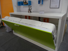 Space Saving Bed With Stroage Cabinet,Multifunctional Innovative Bed,Designer Furniture