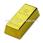 Gold Bullion Bar Golden Brick Door Stopper Stop Novelty Doorstop