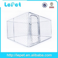 large chain link box large indoor dog run