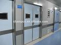 zg0251 di alta qualità manuale a doppio battente interno della porta di legno per ospedale