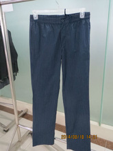 chef pant/restaurant wear/chef trousers/ t/c twill yarn dyed 145G