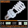 Factory price T2 half spiral energy saving bulbs made in Guzhen