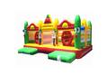 Popular divertido inflar castillo combo, castillos inflables, el castillo de rebote