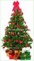 Pequeño árbol de navidad decoración de interior los copos de nieve/muñeco de nieve ornamento