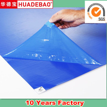 30 Layer PE Sticky Mat Blue For Removing Dirt From Office
