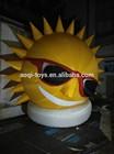 custom giant inflatable sun cartoon for displaying/sun replica/sun model