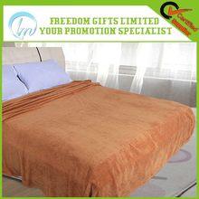 Bottom price new coming flannel fleece blanket bedspread