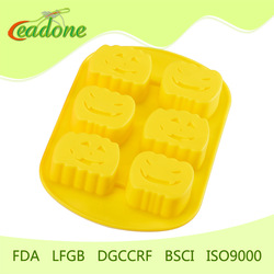 FDA standard halloween pumpkin cake mould