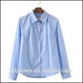 venda quente novo design de alta qualidade das senhoras blusa senhoras camisa de uniforme