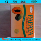 Manufacturing whitening hotel papaya soap