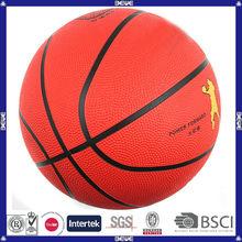 Popular design wholesale promotional customized pu basketball