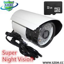 High Quality HD CCTV Camera Cmos Sensor 10m IR Night Vision USB Connector Plug And Play waterproof driver recorder hd car dvr c