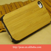 New OEM bamboo and wood cell phone case cover Shell, high quality natural bamboo wooden for iphone cover wholesale
