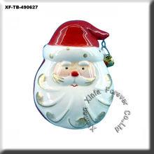 unpainted ceramicware christmas bell