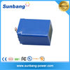 deep cycle rechargeable 36v 15ah lifepo4 battery for solar system/ LED light / e bike
