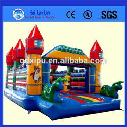 2014 Inflatable bouncy castle Bouncy castle paint