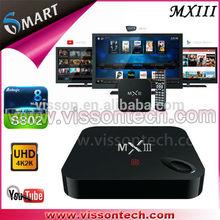 2014 new MXIII amlogic s802 tv box tv tuner box for lcd monitor
