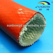 Thermal Endurance Fiberglass Sleeves for Preventing Melt Iron, Melt Copper and Melt Alluminum from Spattering