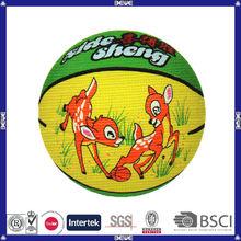 best choice hot sell promotional customized logo custom basketball with logo