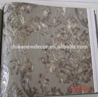 Korean Style Flower Vinyl Wide Wall Paper