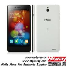 InFocus M512 back and front camera tiptop super slim smart factory long time battery dual sim card flat mobile phone