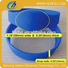 hot hf 13.56mhz disposable rfid wristbands(bracelets)