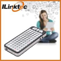ILINKTEC Handheld Backlight Mini wireless blue tooth keyboard for ipad