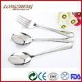 Venda quente de talheres a granel para uso doméstico açoinoxidável c0401-c0403 talher inox colher de mel
