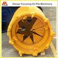 Solo de ferramenta de perfuração peças, max diâmetro 2500mm, rotary equipamentodeperfuração balde verruma