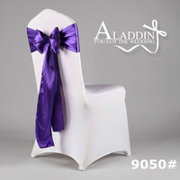 3% discount only one month! Chair satin sash ribbon for wedding party/wholesale chair sashes/wide satin sashes